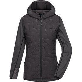 PYUA Blaze Hooded Jacket Damen grey mel-almost black